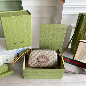 Gucci Neo GG ❤️Supreme Vintage Messenger Bag